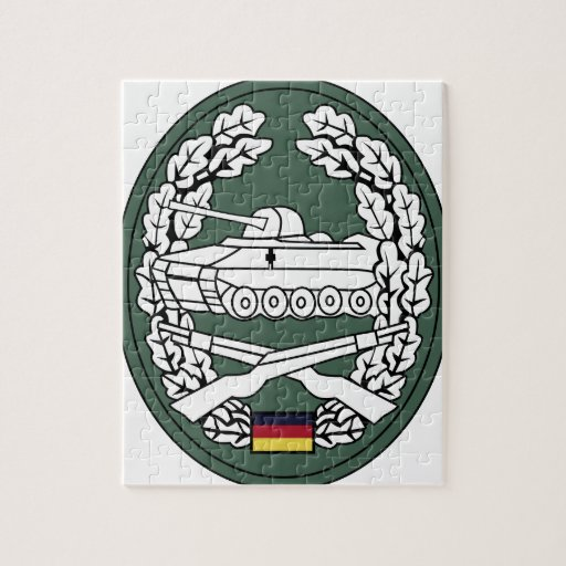 Panzergrenadier insignia of the former West German Puzzles