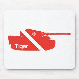 Panzerkampfwagen mínimo VI, rojo Tapete De Raton