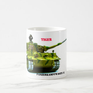 PANZERKAMPFWAGEN VI , TIGER COFFEE MUG
