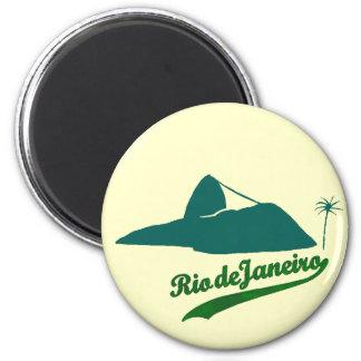 Pão de Açúcar Rio Brasil 2 Inch Round Magnet