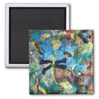 Paola 2 Inch Square Magnet