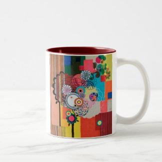 PAOLA DESIGN 3 Two-Tone COFFEE MUG