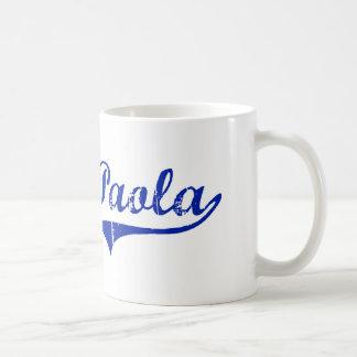 Paola Kansas Classic Design Coffee Mugs
