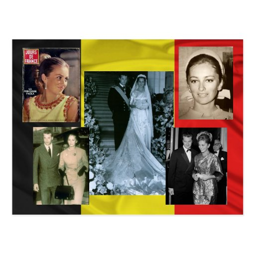 Paola, Queen of the Belgians Postcard