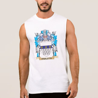 Paoletti Coat of Arms - Family Crest Sleeveless Shirt