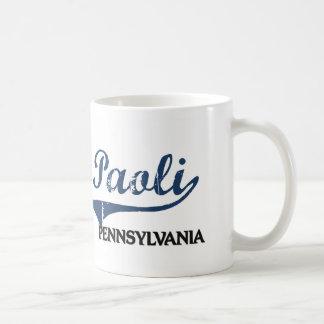 Paoli Pennsylvania City Classic Classic White Coffee Mug
