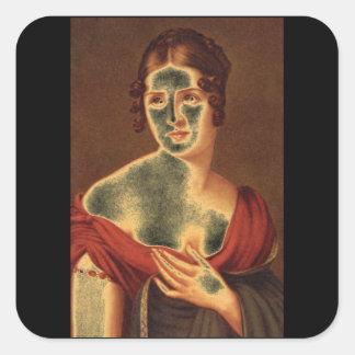 Paolina Bonaparte', S.G_Portraits Square Sticker