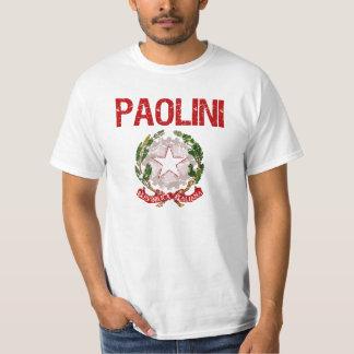 Paolini Italian Surname T-Shirt