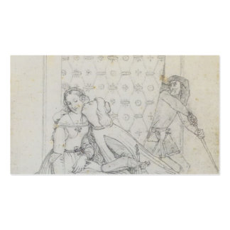 Paolo and Francesca by Jean Dominique Ingres Business Cards