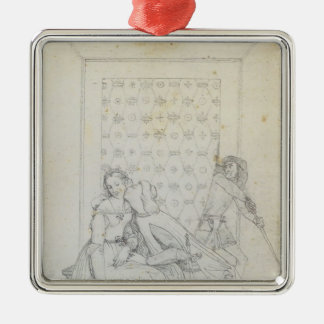 Paolo and Francesca by Jean Dominique Ingres Ornaments