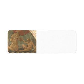 Paolo Uccello: Creation of Adam Custom Return Address Labels