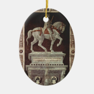Paolo Uccello: Equestrian Monument, John Hawkwood Christmas Tree Ornaments