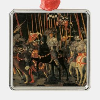 Paolo Uccello-Intervention of Micheletto Cotignol Christmas Ornament