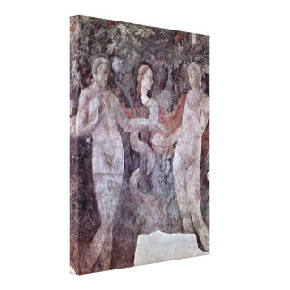 Paolo Uccello - pecado original Lienzo Envuelto Para Galerias