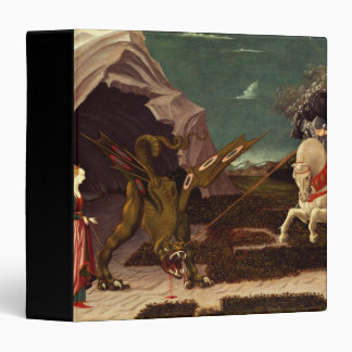 PAOLO UCCELLO - Saint George and the Dragon 1470 Binder