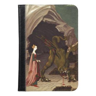 PAOLO UCCELLO - Saint George and the Dragon 1470 iPad Mini Case