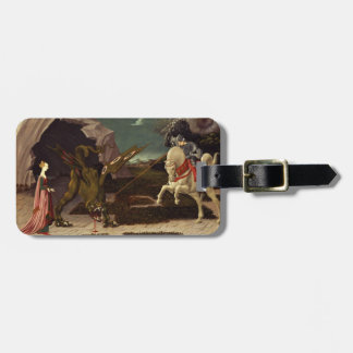 PAOLO UCCELLO - Saint George and the Dragon 1470 Luggage Tag