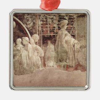 Paolo Uccello: Scene of peace offerings Christmas Ornament
