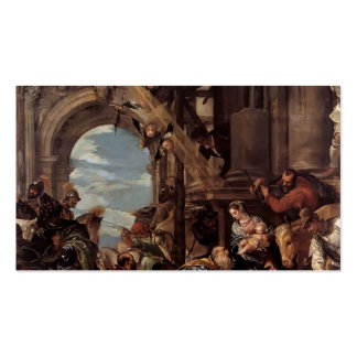 Paolo Veronese- Adoration of the Magi Business Card