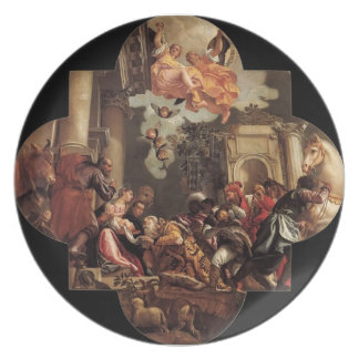 Paolo Veronese- Adoration of the Magi Dinner Plate