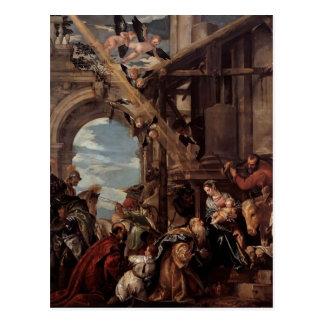 Paolo Veronese- Adoration of the Magi Postcard