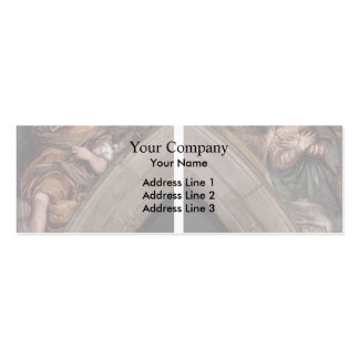Paolo Veronese: Annunciation Business Card Template