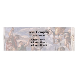 Paolo Veronese Bacchus Vertumnus and Saturn Business Card Template