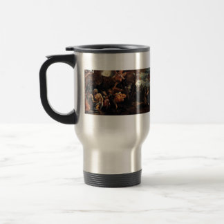 Paolo Veronese- Baptism and Temptation of Christ 15 Oz Stainless Steel Travel Mug