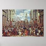 Paolo Veronese - boda en Cana Poster