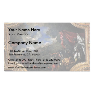 Paolo Veronese- Conquest of Smyrna Business Card Template