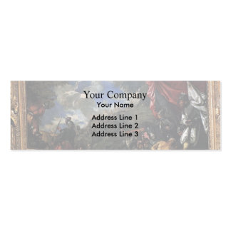 Paolo Veronese- Conquest of Smyrna Business Card Templates