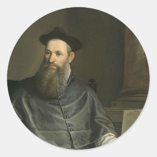 Paolo Veronese- Daniele Barbaro Round Sticker