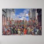 Paolo Veronese - el boda en Cana Posters
