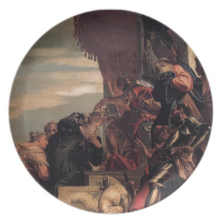Paolo Veronese- Esther Crowned by Ahasuerus Dinner Plate