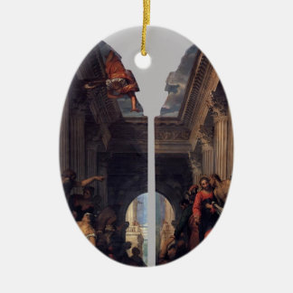 Paolo Veronese- Healing of the Lame Man Ornament