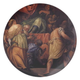 Paolo Veronese- Honor Dinner Plates