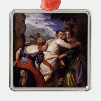 Paolo Veronese-Honor,power after death Christmas Tree Ornament