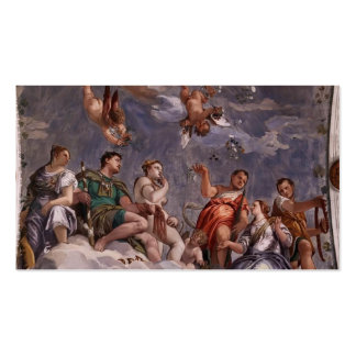 Paolo Veronese: Hyman, Juno and Venus Double-Sided Standard Business Cards (Pack Of 100)