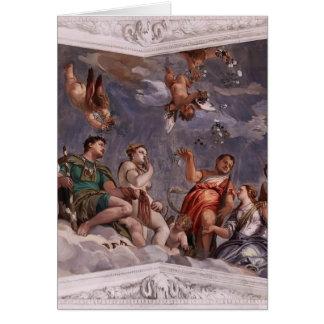 Paolo Veronese: Hyman, Juno y Venus Tarjeta De Felicitación
