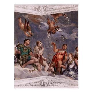 Paolo Veronese: Hyman, Juno y Venus Postal