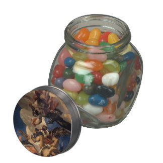 Paolo Veronese- Jupiter Hurling Thunderbolts Jelly Belly Candy Jars