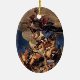 Paolo Veronese- Jupiter Hurling Thunderbolts Christmas Ornaments