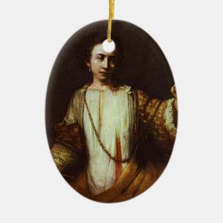 Paolo Veronese- Lucretia Christmas Tree Ornaments