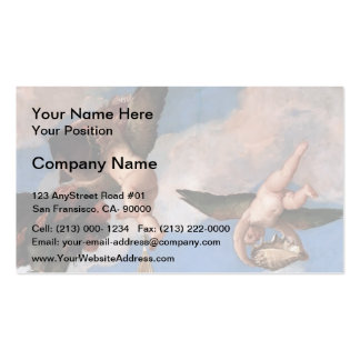 Paolo Veronese- Mars and Neptune Business Card Templates