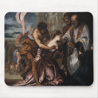 Paolo Veronese-Martyrdom,Last Communion of St Lucy Mouse Pad