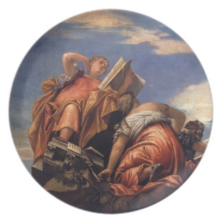 Paolo Veronese- Music, Astronomy and Deceit Party Plate