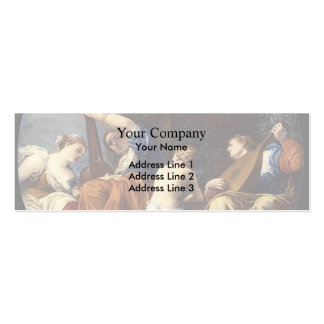 Paolo Veronese- Music Business Card Template