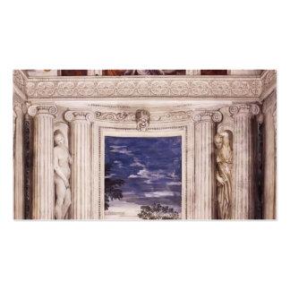 Paolo Veronese: Pared de extremo de la estrofa del Tarjetas De Visita