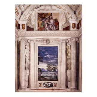 Paolo Veronese: Pared de extremo de la estrofa del Postales