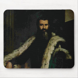 Paolo Veronese- Portrait of Daniele Barbaro Mouse Pads